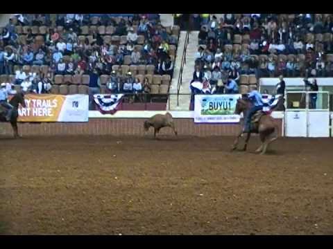 2014 Montgomery PRCA Team Roping -Will Clark/Chad Agner