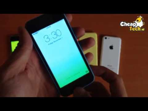 Apple iPhone 5C Kloon Klone Cloon Clone Android (www.cheaptech.nl)