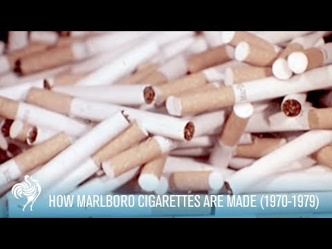 Marlboro cigarettes made by