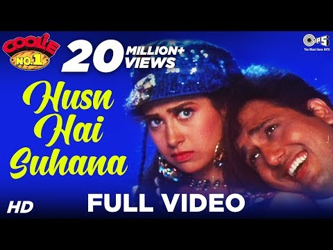 Abhijeet's Sensational Hit -Husn Hai Suhana - Coolie No.1 -HQ