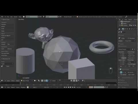 Onflow Tuts - Curso Basico de Blender 3D - Aula 3