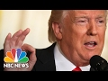 President Donald Trumps Addresses Mike Flynn, Russia, Fake News (Full Press Conference) | NBC News