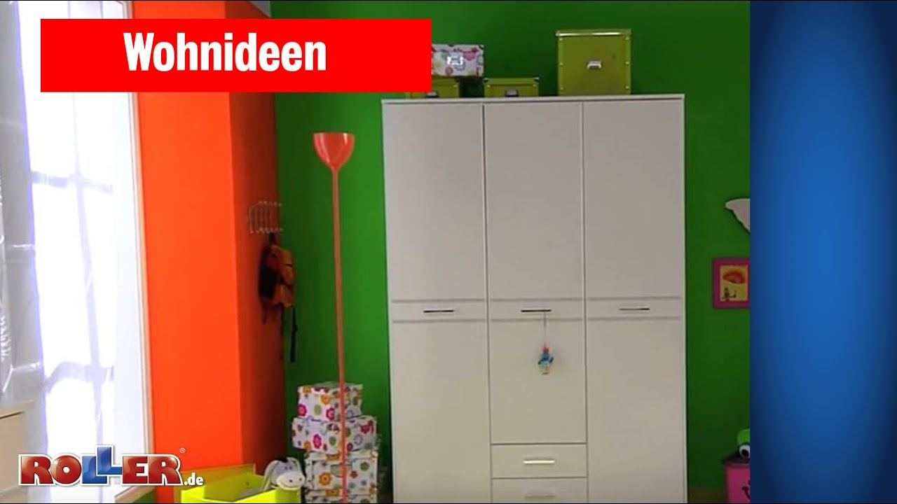 kinderzimmer einrichten und dekorieren f r m dchen roller wohnideen youtube. Black Bedroom Furniture Sets. Home Design Ideas