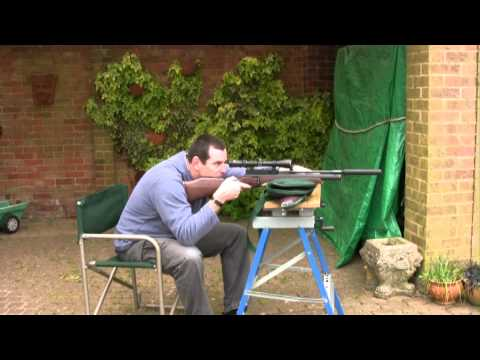 Setting up Air rifles and zeroing in scopes