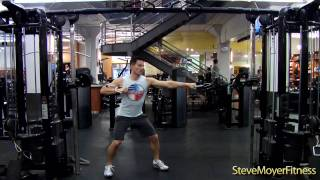CORE Exercise Cable Push-Pull