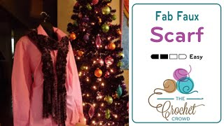How To Crochet Fab Faux Scarf
