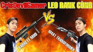 GÁNH TEAM LEO RANK cùng Barrett và M4A1 Transformer