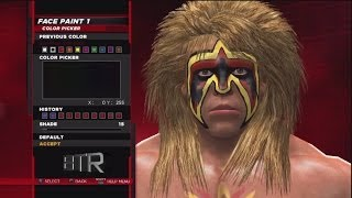 WWE 2K14 Superstar Threads The Ultimate Warrior 1990