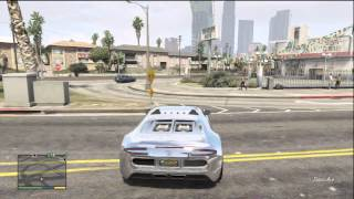 GTA 5 PIMPED OUT GARAGE ALL CARS CHROME AND CUSTOMIZED TO