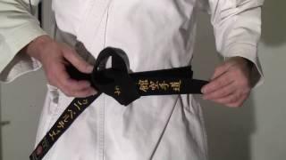 Comment Bien Attacher Sa Ceinture De Karaté Shotokan
