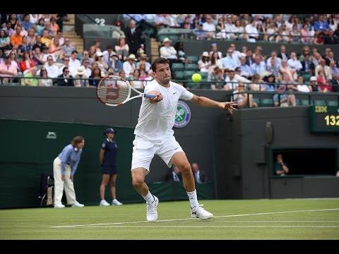 Mats Wilander's analysis of Grigor Dimitrov - Wimbledon 2014