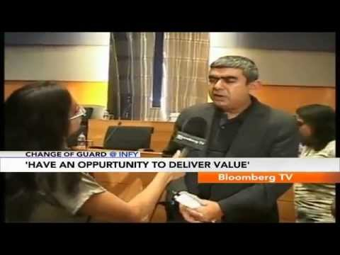 Change Of Guard At Infy- Vishal Sikka's Gameplan For Infosys