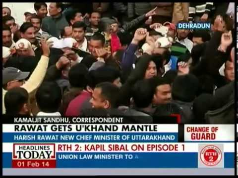 Harish Rawat talks about taking over as CM of U'khand