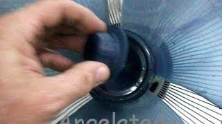 Reparación de ventilador de pie, ... paso a paso.