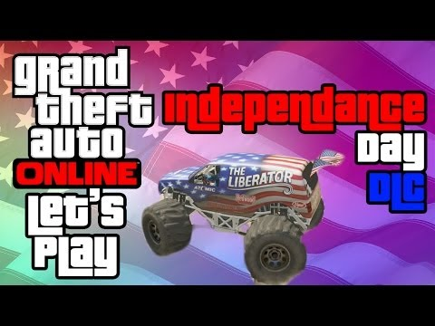 GTA Online: GTA Online Independance Day Event Playlist Lets Play W/ ReusablePear and Teh Bacca