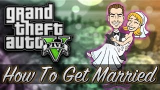 How To Get Married In GTA 5! (GTA Easter Egg / Glitch