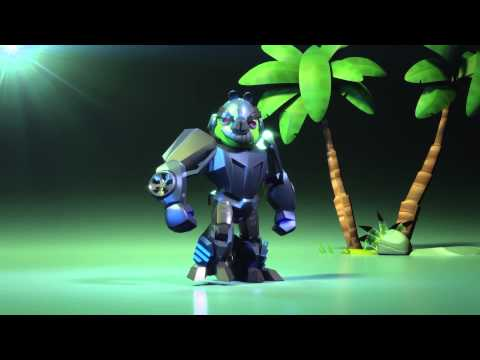Angry Birds Transformers - Lockdown