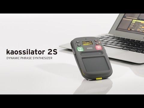 Korg KO2S Kaossilator Phrase Synthesizer Pad