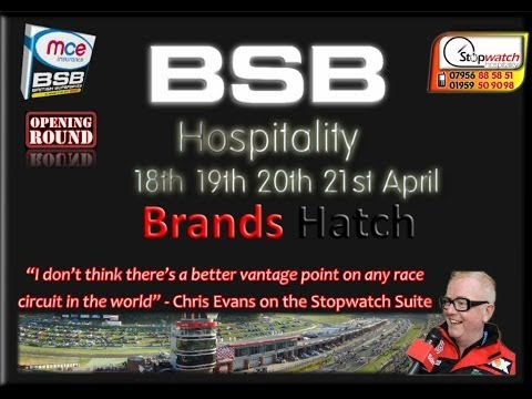 British Superbikes at Brands Hatch. Easter Weekend, April 18th-21st