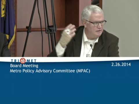 TriMet Board Meeting for February 26th, 2014