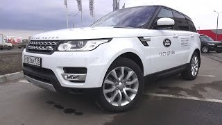 2016 Land Rover Range Rover Sport HSE Test Drive. MegaRetr
