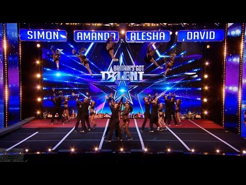 Britain's Got Talent 2017 Coventry Dynamite Cheerleaders Amaze Full Audition S11E06