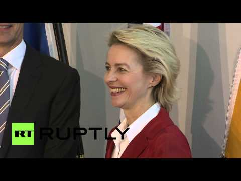 Germany: Ursula von der Leyen meets Jens Stoltenberg in Berlin