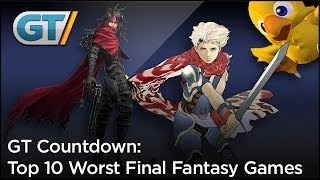 Top 10 Worst Final Fantasy Games