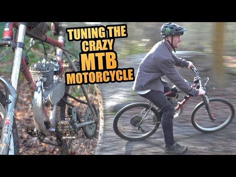 TUNING THE CRAZY MOUNTAIN BIKE MOTORCYCLE