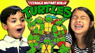 [Kids React To Teenage Mutant Ninja Turtles] Video