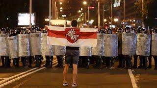 صدامات بين الشرطة ومحتجين في بيلاروس عقب الانتخابات الرئاسية