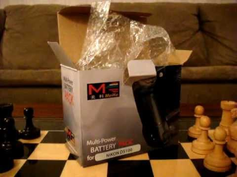 Unboxing of MeiKe Battery Grip for Nikon D5100