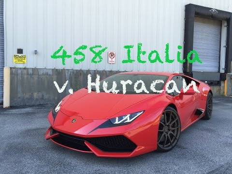 458 italia vs aventador ferrari 458 italia vs. Black Bedroom Furniture Sets. Home Design Ideas