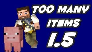 ★ How To Install Too Many Items 1.5.2 Minecraft Mod