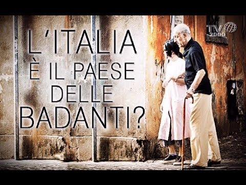Italia, paese di badanti?