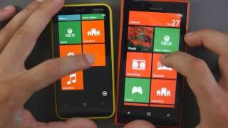 Nokia Lumia 620 vs Nokia Lumia 720 karşılaştırma