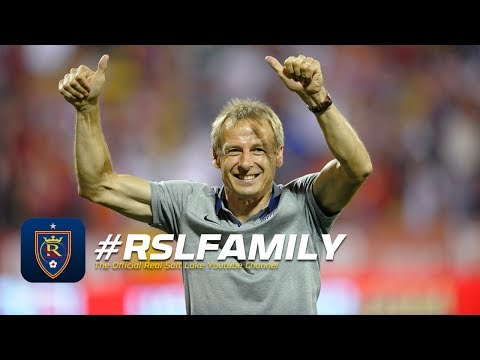 Jurgen Klinsmann joins Bill Riley & Brian Dunseth at halftime of Real Salt Lake - Toronto FC
