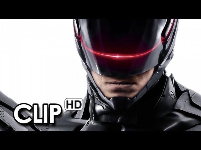 RoboCop Clip Ufficiale Italiana. Io metterei giù le armi (2014) - Samuel L. Jackson Movie HD
