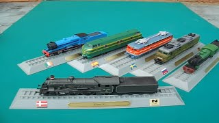 Del Prado Locomotives Of The World N Gauge Scale Model