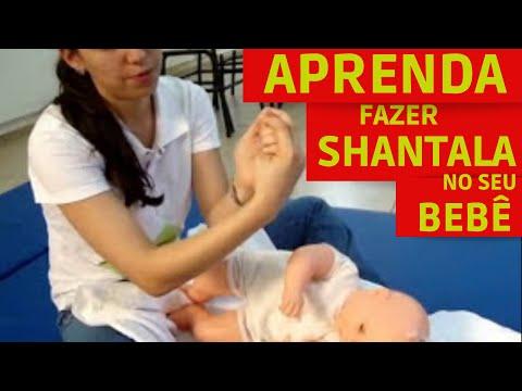 Aprenda a fazer a Shantala em seu bebê