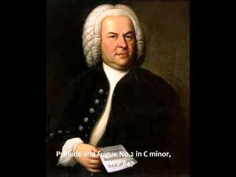 Johann Sebastian Bach - Prelude and Fugue No. 2 in C minor, BWV 847