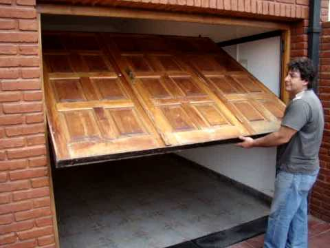 Подъёмно поворотные ворота сделанные своими руками