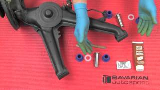 Installing Powerflex Subframe, Trailing Arm And