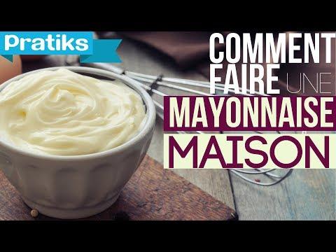 Comment faire une mayonnaise maison youtube - Faire la mayonnaise ...