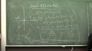 DiffGeom3: Parametrized curves and algebraic curves