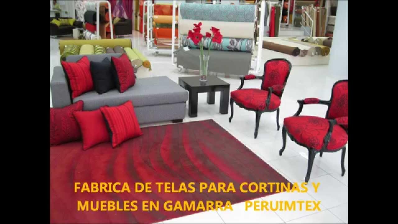 Fabrica de telas para muebles y cortinas en gamarra - Telas para cortinas ...