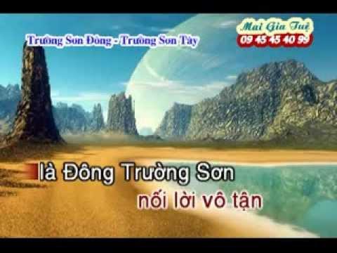 Truong son dong truong son tay [nhac song karaoke 2014]