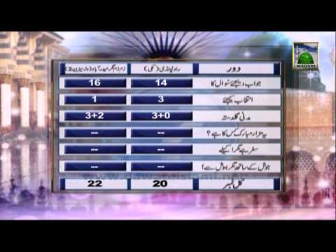 Zehni Azmaish Season 3 Ep#11 - Rawalpindi Makki vs Hyderabad (Knockout Round)