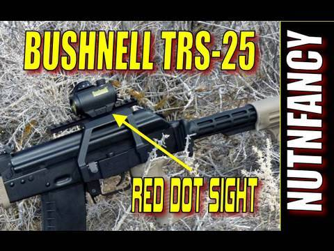 Bushnell TRS-25: High Performance Micro Red Dot 13:12