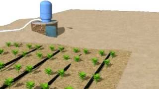 Irrigation Water System (3D-Diagram)